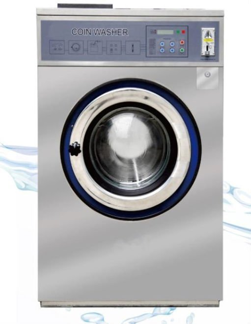 how to a coin operated washing machine